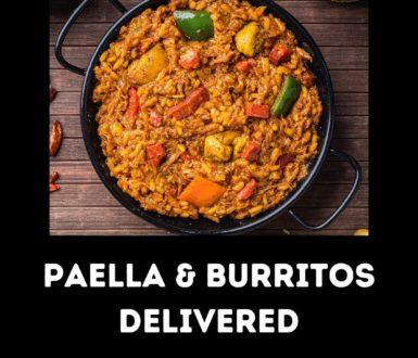 Paella Curries Burritos Delivered Logo