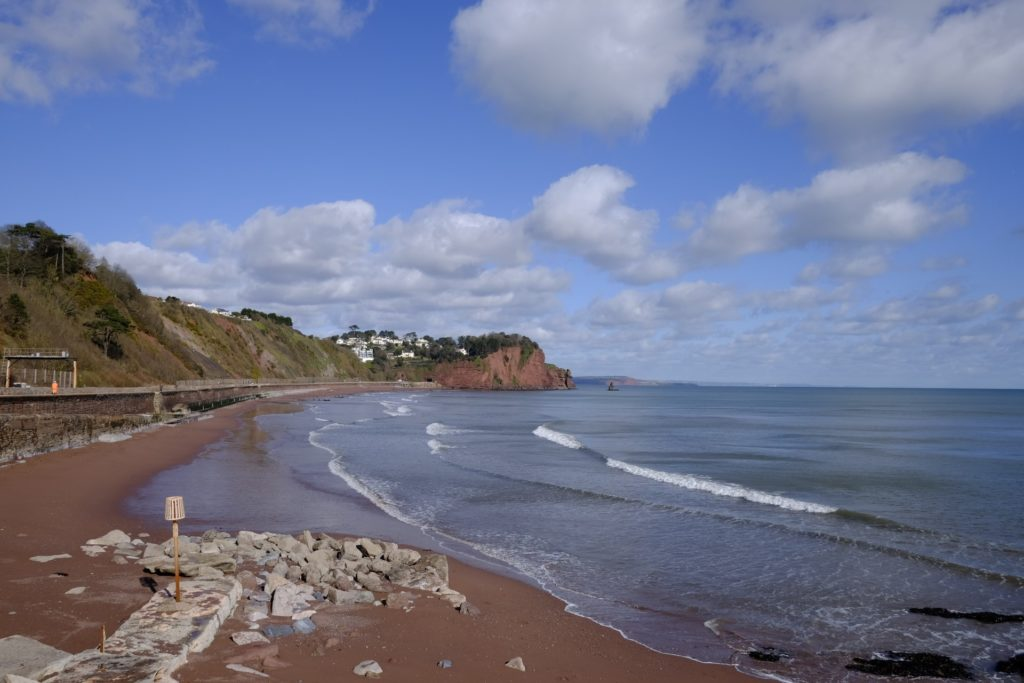 Teignmouth Seafront By John Hooper