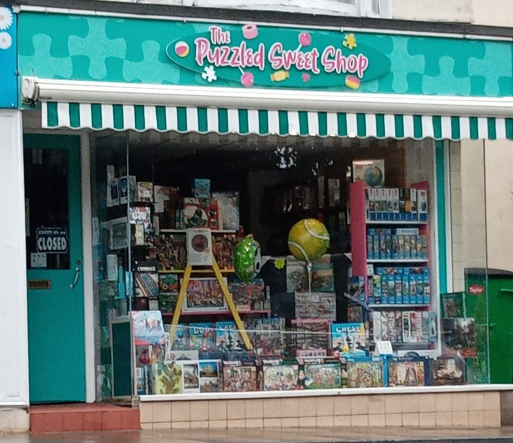 Puzzled Sweet Shop