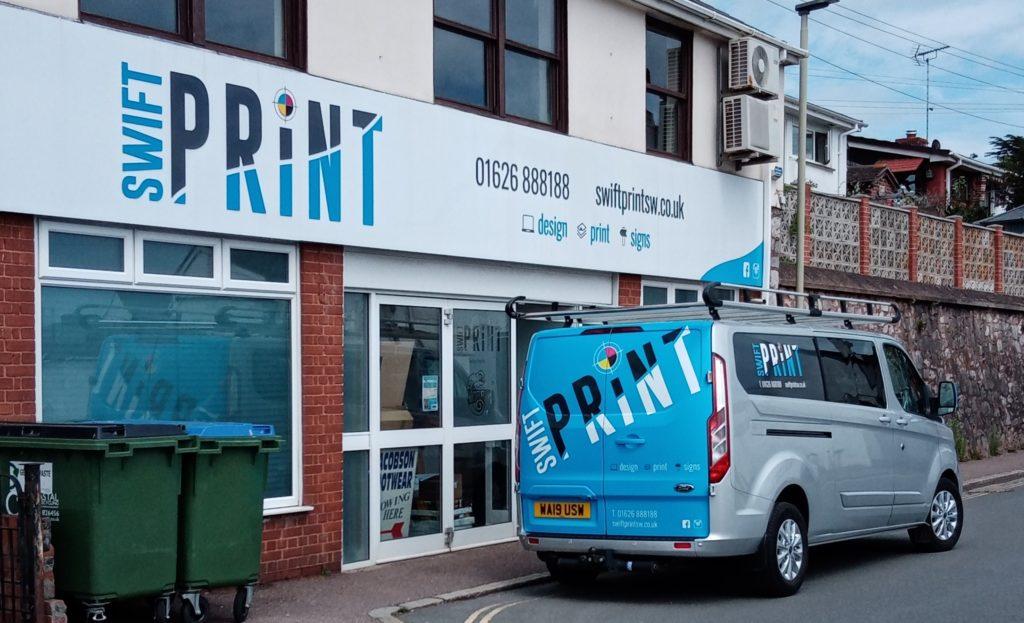 Swift Print shop front