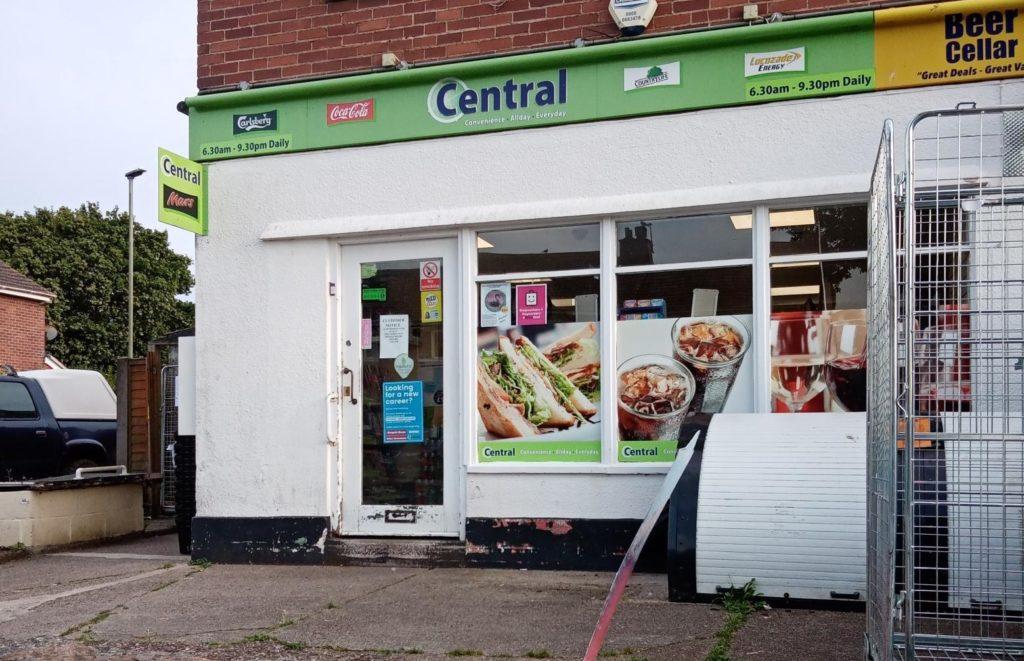 Central Convenience Stores shop front