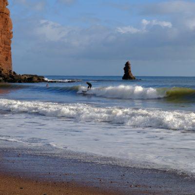 Surfer By John Hooper
